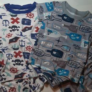 2 pair Gymboree Pajamas